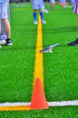 Cone on Sports Field