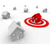 One House in Bulls-Eye Target - Marketing to Buyers