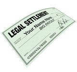 Legal Settlement - Blank Check Disbersement poster
