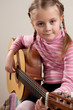 Child with guitar