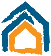 Icon of House: Concept of Insurance, Safety, Security