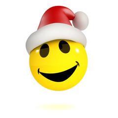 3d Santa smiley!