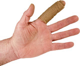 index finger injury isolated hand poster