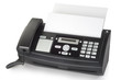 Leinwandbild Motiv Fax machine