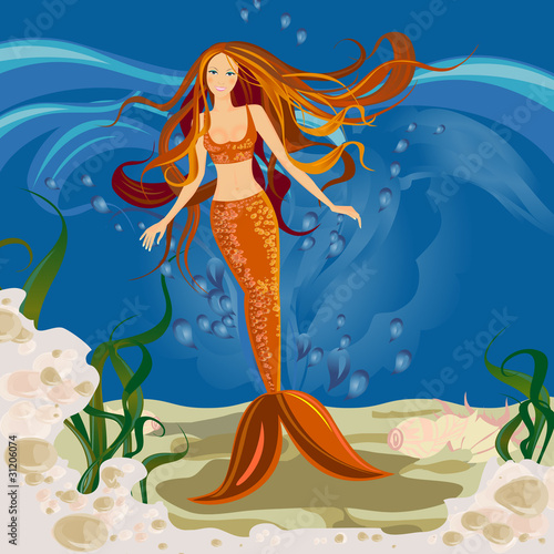 Poster Zeemeermin Mermaid
