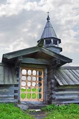Entrance on a monasterial cemetery