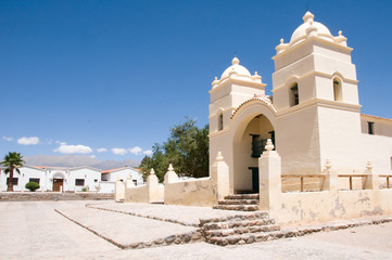 Church of San Pedro in Molinos, Calchaqui Valley, Argentina