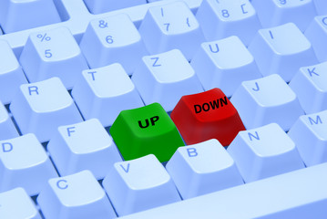 Tastatur up and down