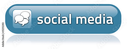"Bar-shaped Button ""Social Media"""