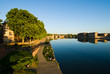 Riverside of Garonne in Toulouse