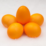 yellow eggs