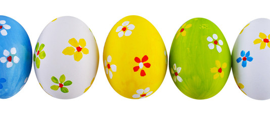 Hand painted easter eggs.