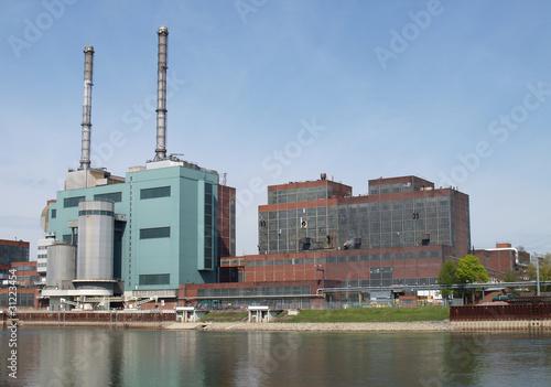 Kraftwerksgebäude