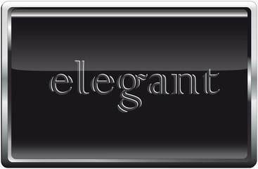 Blackbutton elegant grau