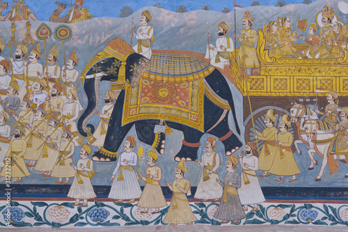 Fototapeten,elefant,indien,indianer,wandbild