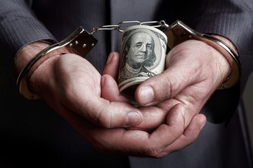 Business man arrested for bribe