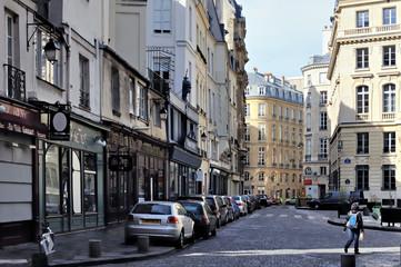 Paris : Place des Petits Pères deuxième arrondissement