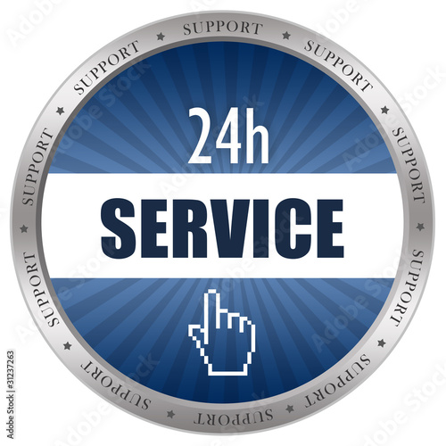 Service icon isolated on white background