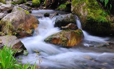 La fuerza del agua.