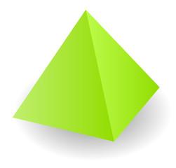 Vector pyramid illustration