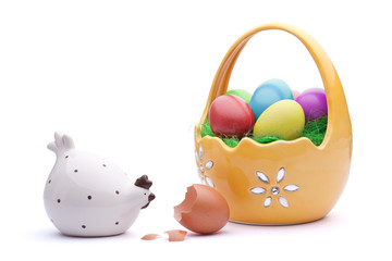 Easter eggs, Closed society