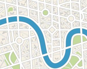 City map.