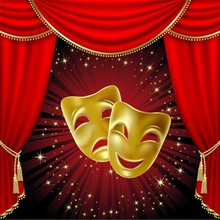 Masques de théâtre.