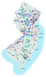 New Jersey State Interstate Map