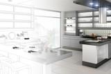Fototapety Küchenplanung