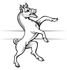 boar emblem