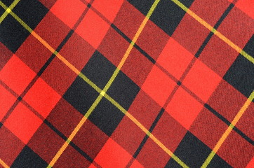 Abstract Background Texture Of Tartan Plaid Fabric