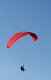 Parapente rouge