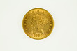 US gold eagle coin, liberty type, obverse