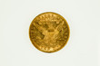 US gold eagle coin, liberty type, reverse