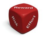 Risk, Effort, Reward poster