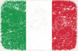 vector grunge styled flag of Italy