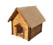 Wooden house for children's games