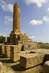 Colonna del tempio di Vulcano ad Agrigento
