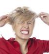 femme et problèmes capillaires