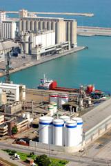L'usine portuaire