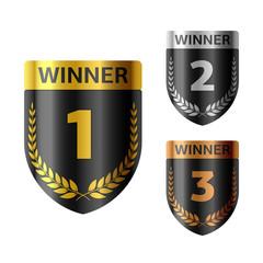 Winner's shield