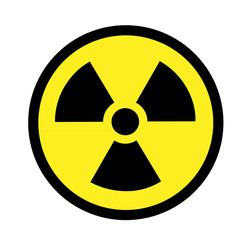 Atom Zeichen Schild
