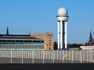 Flughafengebäude in Berlin Tempelhof