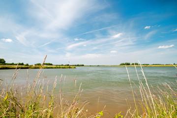 River landscape in Holland