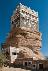 dar al hajar palace in wadi dhahr yemen