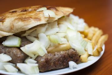 Cevap (kebab) - balkan meal