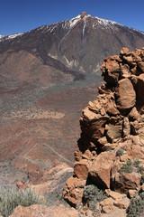 Teide et rocher