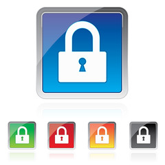Padlock icon, Security icon