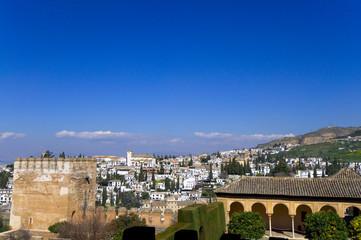 Alhambra und Albaicin - Granada - Analusien - Spanien