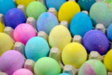 Multiple Dyed Easter Eggs poster